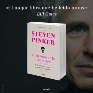 El nuevo libro de Steven Pinker, lo mejor que ha leído nunca Bill Gates