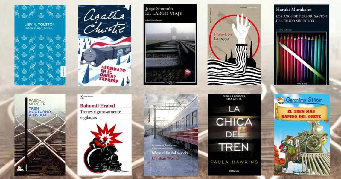 Literatura y trenes: ¡Atentos al cruce de vías!