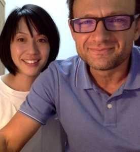 Fernando Cordobés y Yoko Ogihara, traductores de Haruki Murakami