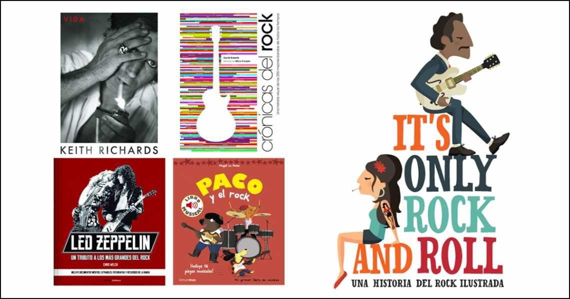 Día Mundial del Rock: Libros para sentir el ritmo en las venas