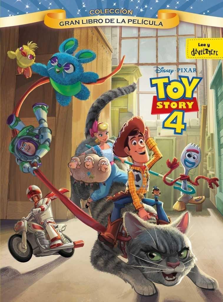 4 razones por las que no te puedes perder Toy Story 4 - Gran libro de la película