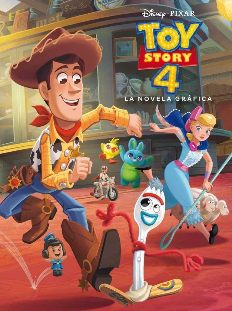 4 razones por las que no te puedes perder Toy Story 4 - La novela gráfica