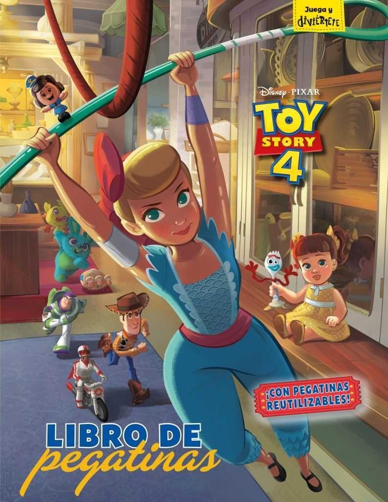 4 razones por las que no te puedes perder Toy Story 4 - El libro de pegatinas