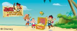 Disney. Jake y los piratas