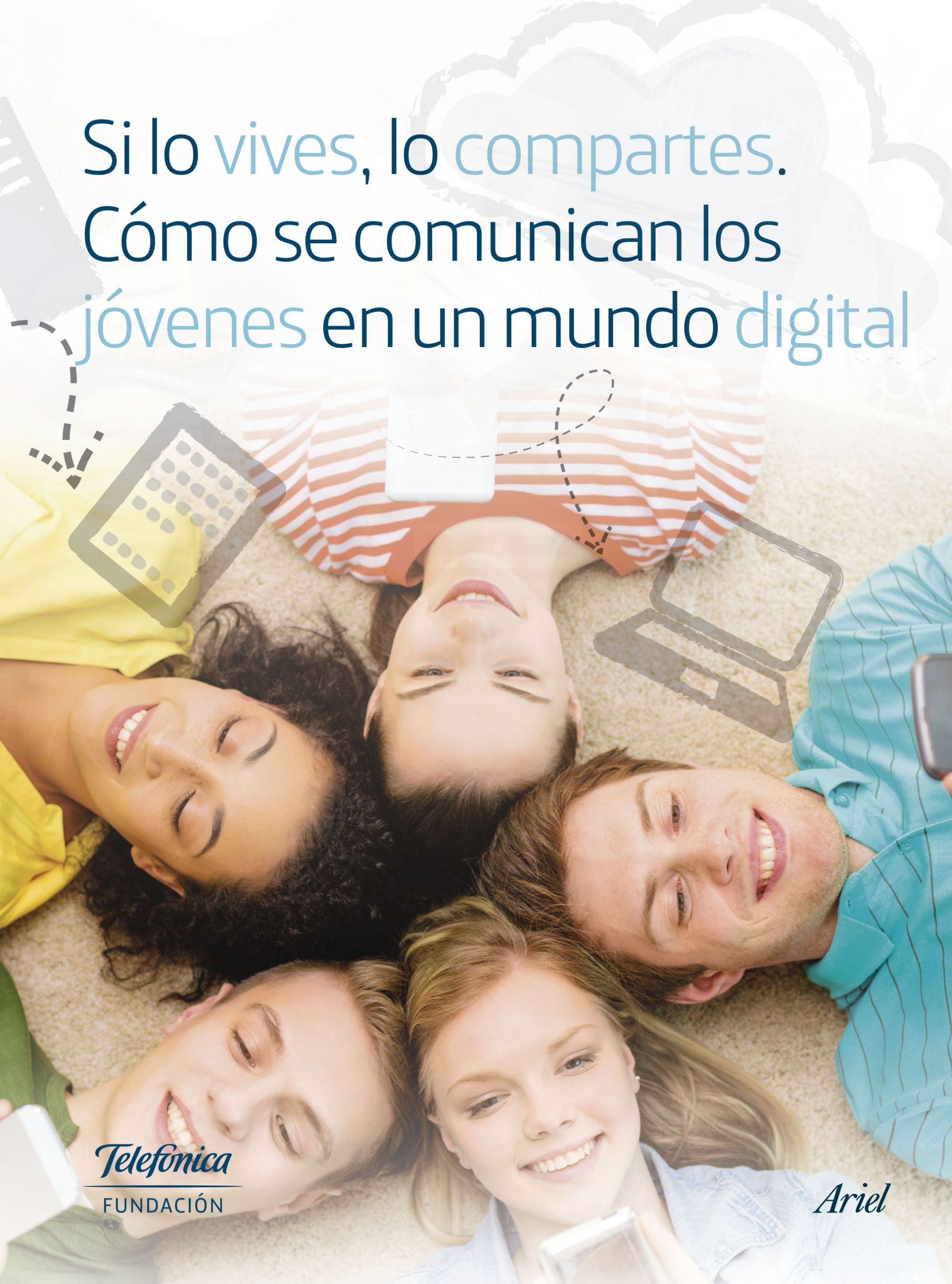 Image result for si lo vives lo compartes fundacion telefonica