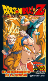 Dragon Ball Z Anime Comic ¡El renacimiento de la fusión! Goku y Vegeta!
