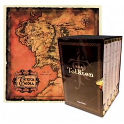 Estuche Tolkien 6 vols. + mapa + postales