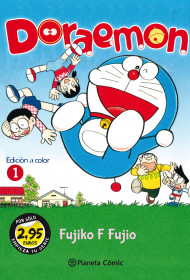 MM Doraemon nº 01 2,95