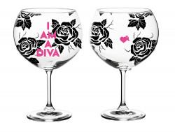 Copa gin-tonic La Vecina Rubia Rosas