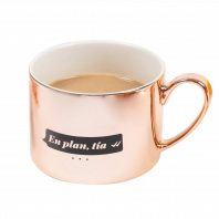Taza de café La Vecina Rubia 'En plan tía'