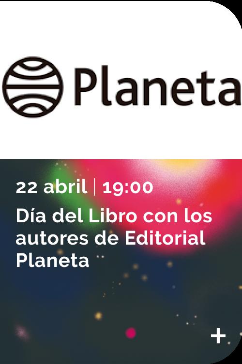 Directos Sant Jordi 2021 - Planeta 22/04