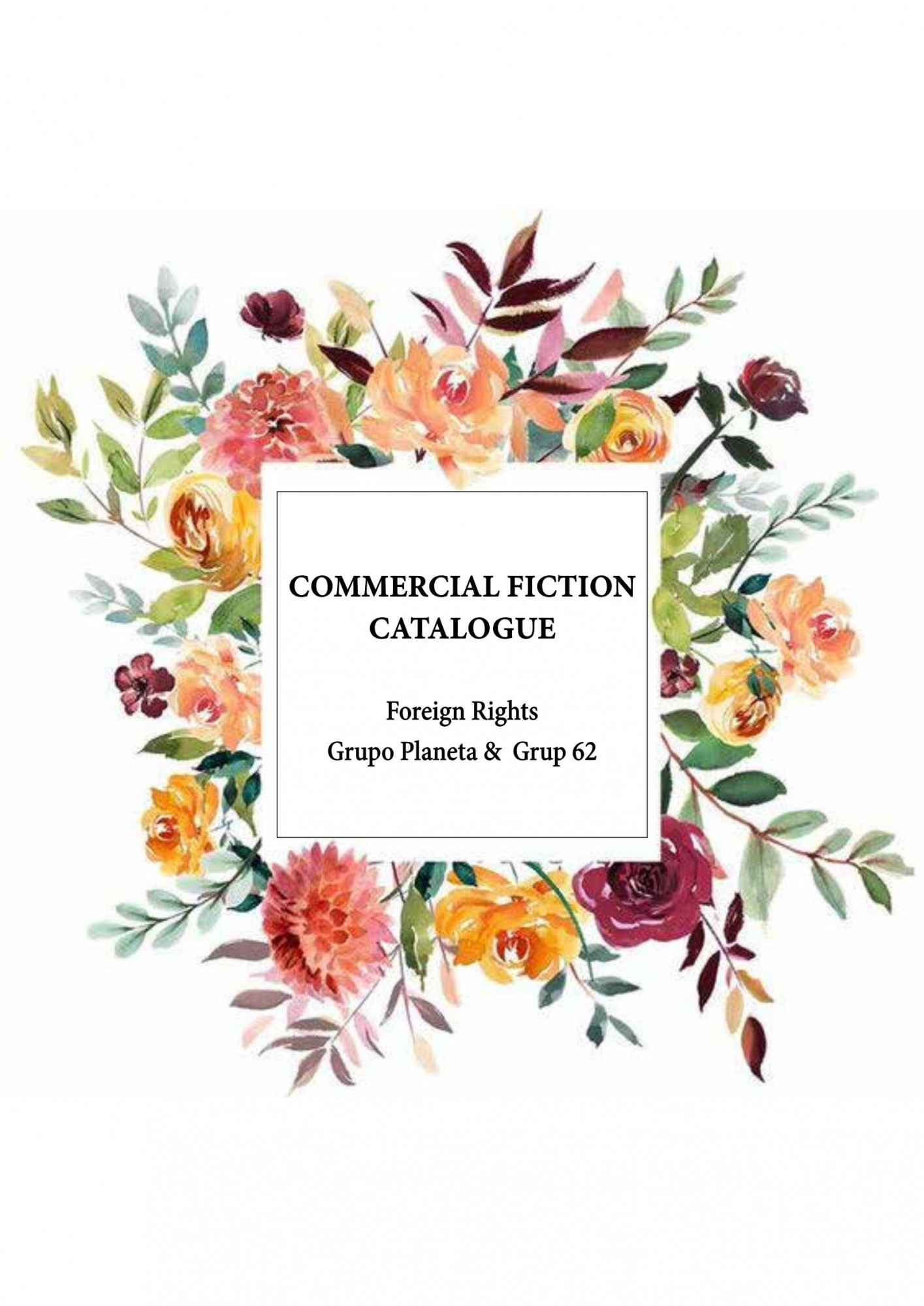 Commercial Fiction Catalogue London 2019