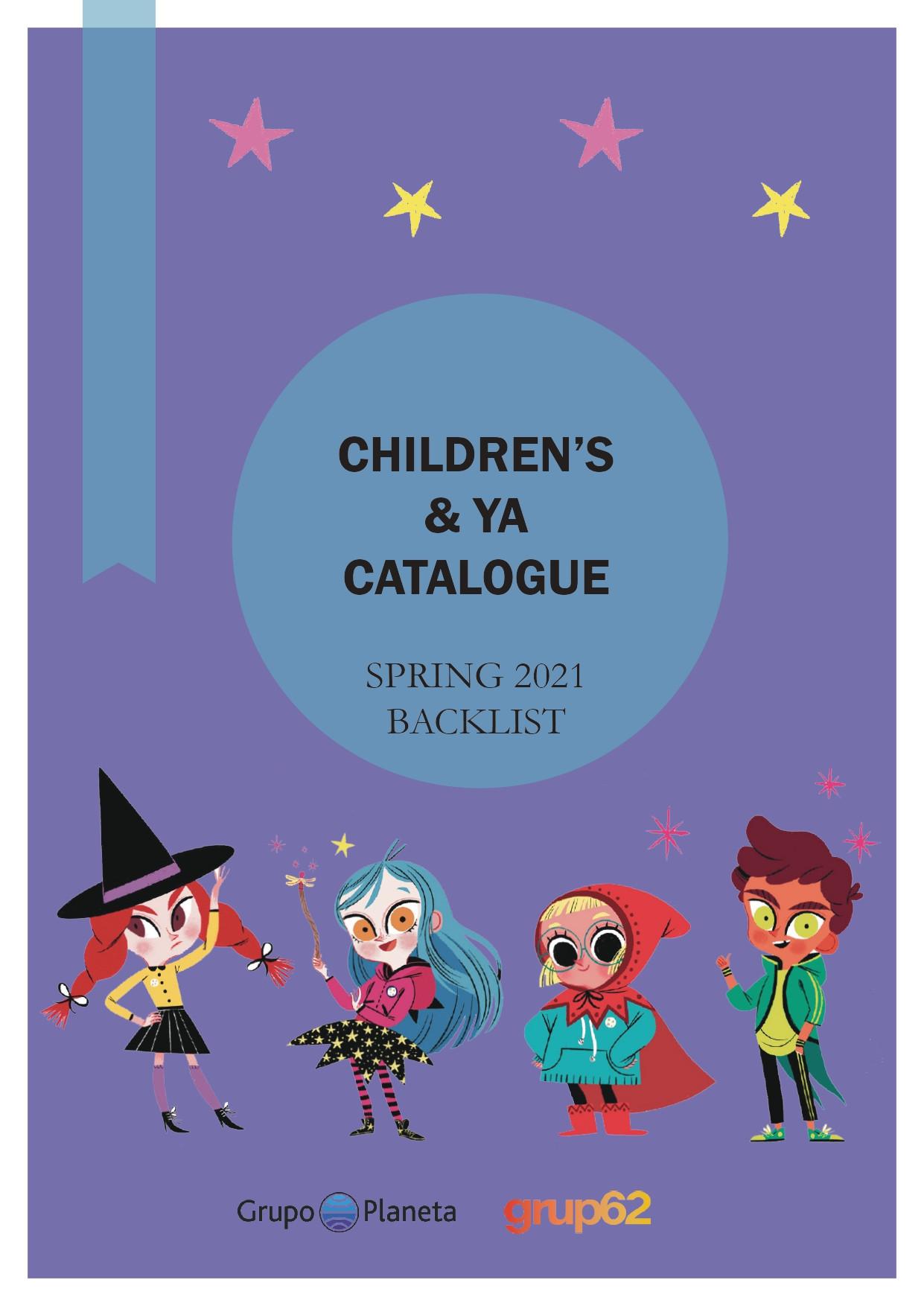 Spring 2021 Children's & YA Backlist