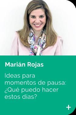 Marian Rojas CONSEJOS