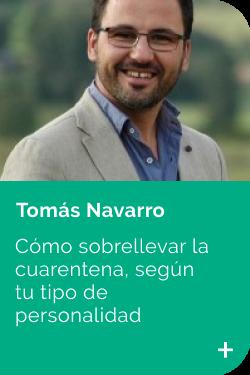 Tomás Navarro CONSEJOS