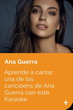 Ana Guerra APRENDE
