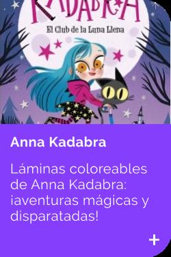 Laminas Anna Kadabra INFANTIL