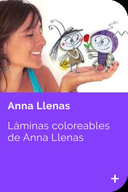 Laminas Anna Llenas INFANTIL