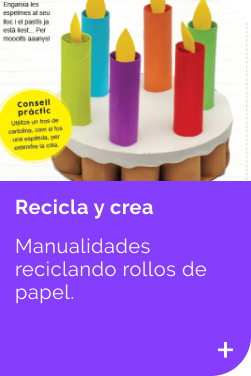 Recicla con Rollos INFANTIL