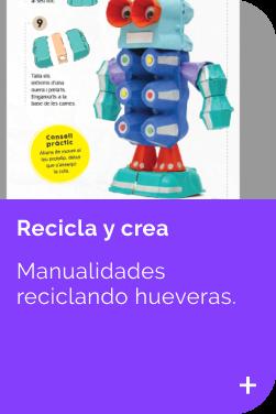 Recicla con Hueveras INFANTIL