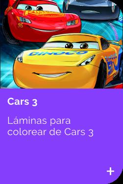 Cars 3 INFANTIL