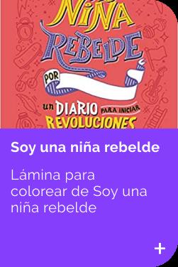 Lamina Soy una niña rebelde INFANTIL