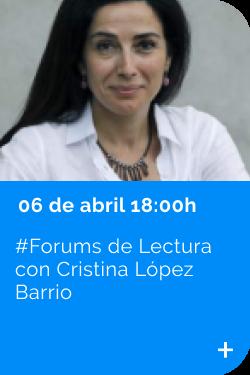 Cristina López Barrio 06/04
