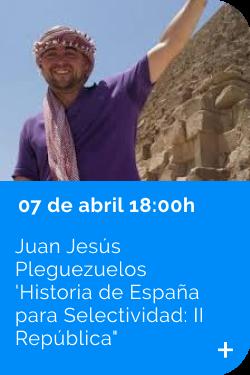 Juan Jesús Pleguezuelos 07/04