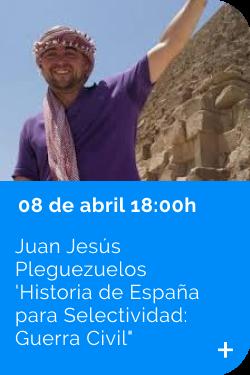Juan Jesús Pleguezuelos 08/04